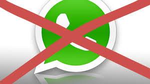 Ab sofort KEINE WhatsApp-Bestellungen mehr möglich